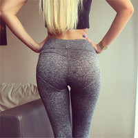 Women's Fashion Hot Sale Heart Hip Up Pants Leggings [9461670663]