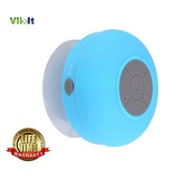 Blue - Waterproof Portable Wireless Bluetooth 3.0 Mini Speaker,Shower,Pool,Car,Handsfree Mic for Apple iphone 4/4S,iPhone5/5S,ipad,ipod,Samsung galaxy