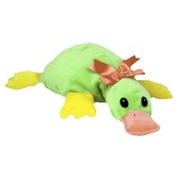 TY Pillow Pal - PADDLES the Platypus (Green Version)