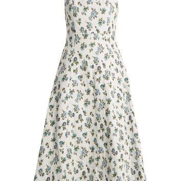 Polly floral-jacquard dress | Erdem | MATCHESFASHION.COM US