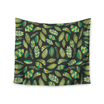 "Pom Graphic Design ""Tropical Botanicals 2"" Nature Green Wall Tapestry"