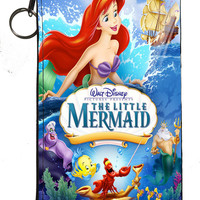 "Disney's Little Mermaid Zipper Pouch 8"" x 4"""