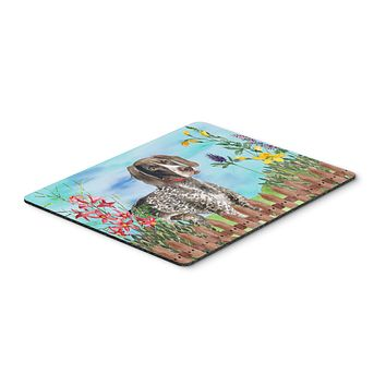 German Shorthaired Pointer Spring Mouse Pad, Hot Pad or Trivet CK1203MP