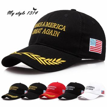 Dropshipping Make America Great Again Hat Donald Trump Republican Hats Camo Baseball Caps US Free Shipping W1