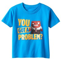 Disney / Pixar Inside Out Anger ''You Got A Problem?'' Tee - Boys