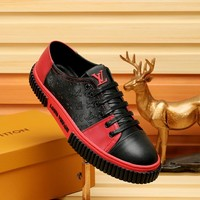 Louis Vuitton Men Fashion Casual Sneakers Sport Shoes