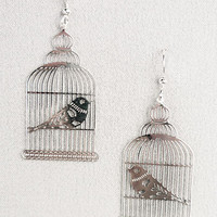 Caged Beauty Earrings | PLASTICLAND