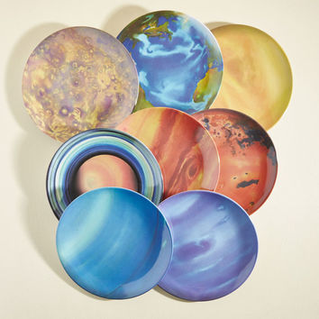 When the Planets A-Dine Plate Set