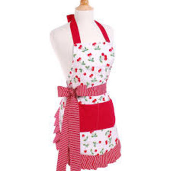 Women's Original Very Cherry Flirty Apron