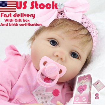 "22"" Realistic Toddler Reborn Baby Doll"