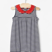 Scallop collar shortie one-piece | Gap