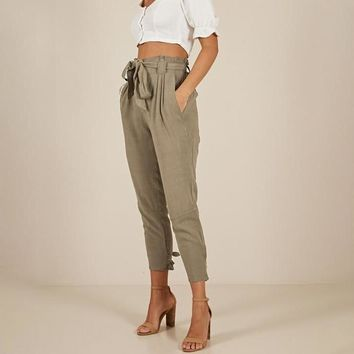 Diane Fabuloso High-Waisted Trousers