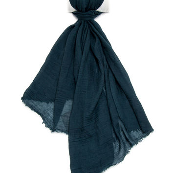 John Varvatos Dark Teal Scarf
