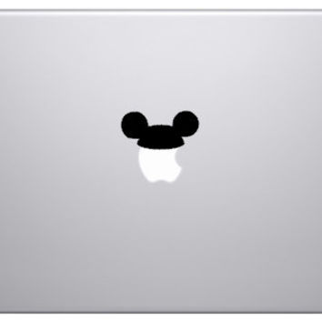 Disney Mickey Mouse Ears Macbook Decal