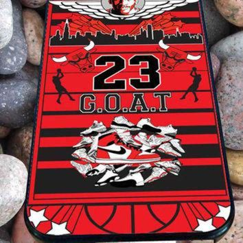 CREYUG7 Michael Jordan Too Fly for iPhone 4/4s, iPhone 5/5S/5C/6, Samsung S3/S4/S5 Unique Case