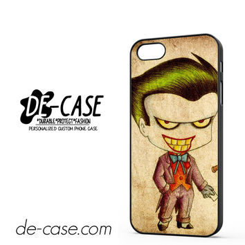 Harley Quinn And Joker Art Couple Case Device 1 DEAL-5069 Apple Phonecase Cover For Iphone 5 / Iphone 5S