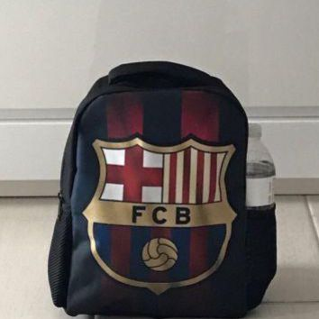 Barcelona FC Small Backpack Bag Messi (9x11)inches 2017 Soccer Football NEW!