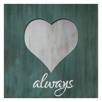 Patton ''Heart Always'' Wall Art