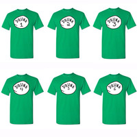 Drunk 1-9 T-shirts, Drunk 1 Drunk 2 Drunk 3, St. Patricks day clothing