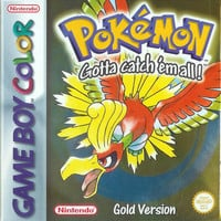 Pokemon Gold for the Gameboy Color (GBC)