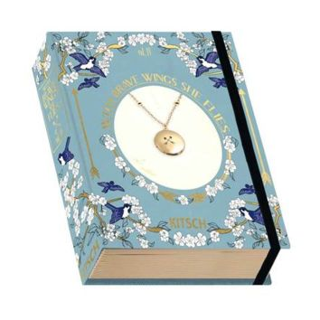 Arrow Charm  Locket Vintage Book Box