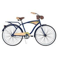 "Huffy Panama Jack 26"" Mens Cruiser Bike - Dark Blue"