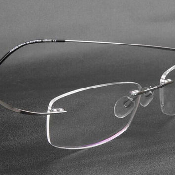 Rimless Glasses No Screws : Best Silhouette Eyeglasses Products on Wanelo