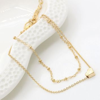 Jewelry Ladies Cute Gift Sexy Shiny New Arrival Stylish Double-layered Bracelet Anklet [10417792532]