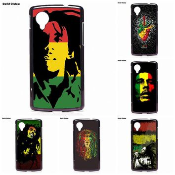 Bob Marley Original Phone Case Cover Shell For LG L Prime G2 G3 G4 G5 G6 L70 L90 L5 L7 II K4 K7 K8 K10 V20 2017 Nexus 5 6 6P 5X