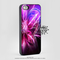 Abstrack Flower Light For Apple, Iphone, Ipod, Samsung Galaxy Case
