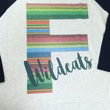 Fletcher Wildcat Serape Shirt