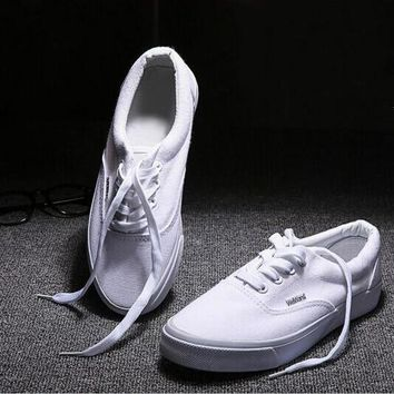 """""""VANS"""" Male Female Classic Fashion All-match Casual Canvas Straps Shoes Single Shoes F"""