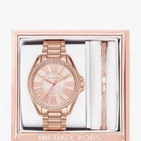 Kacie Rose Gold-Tone Gift Set | Michael Kors