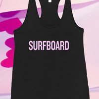 Beyonce Surfboard Screenprint For Tank top women and men unisex adult