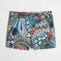 "Factory 5"" printed stretch chino short : novelty 