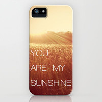 You Are my Sunshine iPhone Case by Olivia Joy StClaire | Society6