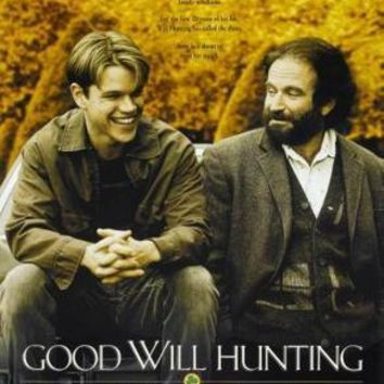 Good Will Hunting Movie poster Metal Sign Wall Art 8in x 12in