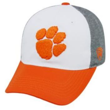 Clemson Tigers Hustle Stretch Hat By Top Of The World