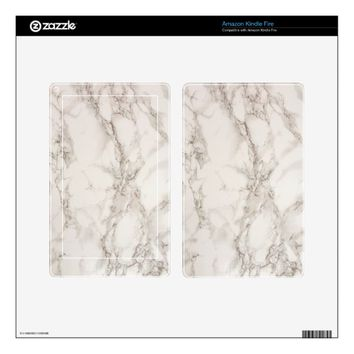 Marble Stone Kindle Fire Skin