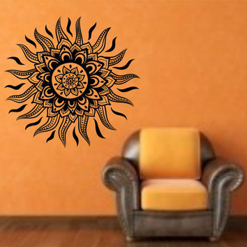Sun Tribal Vinyl Wall Decal Sticker Art Decor Bedroom Design Mural hawaii