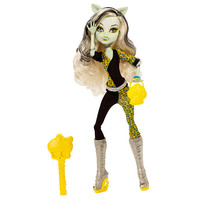 LicensedCartoons.com: Monster High Freaky Fusion Frankie Stein Doll