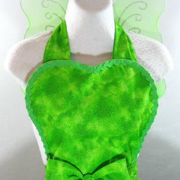 Tinkerbell Inspired Costume Apron