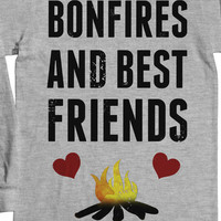Bonfires & Best Friends T-Shirt