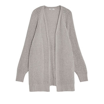 Chenille cardigan with batwing sleeves - Knit - Clothing - Woman - PULL&BEAR United Kingdom