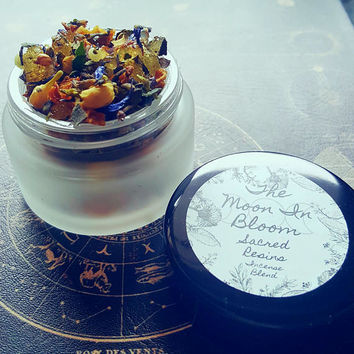 Spring Rain | Sacred Resin Incense Blend | Frankincense, Cucumber, Violet | Sweet Rain & Peaceful Calm | Spiritual Gifts | Loose Incence