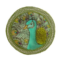 Merit Badge for 'being proud as a peacock' by BeProud on Etsy