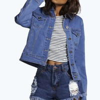 Jade Slim Fit Denim Jacket