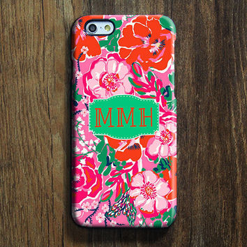 Red Flowers iPhone 6 Case iPhone 6 plus Case Custom iPhone 5S Case iPhone 5C Case iPhone 4S/4 Case Pink Galaxy S6 Edge S5 S4 Case 125
