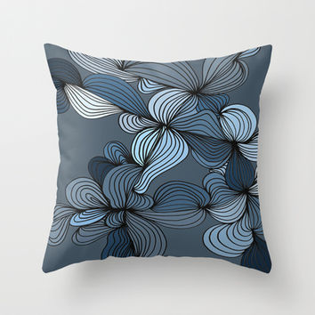 The Blues Throw Pillow by DuckyB (Brandi)