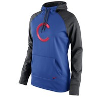 Nike Chicago Cubs Dri-FIT French Terry Hoodie - Women's, Size: